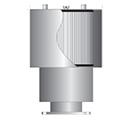 Silencer air intake filter housing