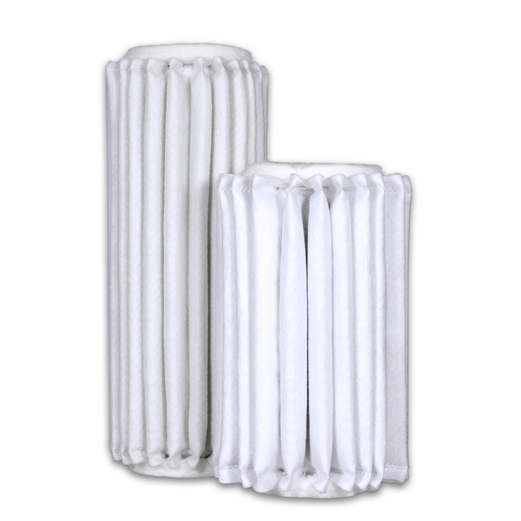 Industrial sewn end filters from Sidco Filter to replace Shawndra Sparks, Consler Graver, Dollinger, Endustra, Filpro, Filter Engineering, IFM, Ingersoll Rand, NAFCO, and Sunshine filter elements.