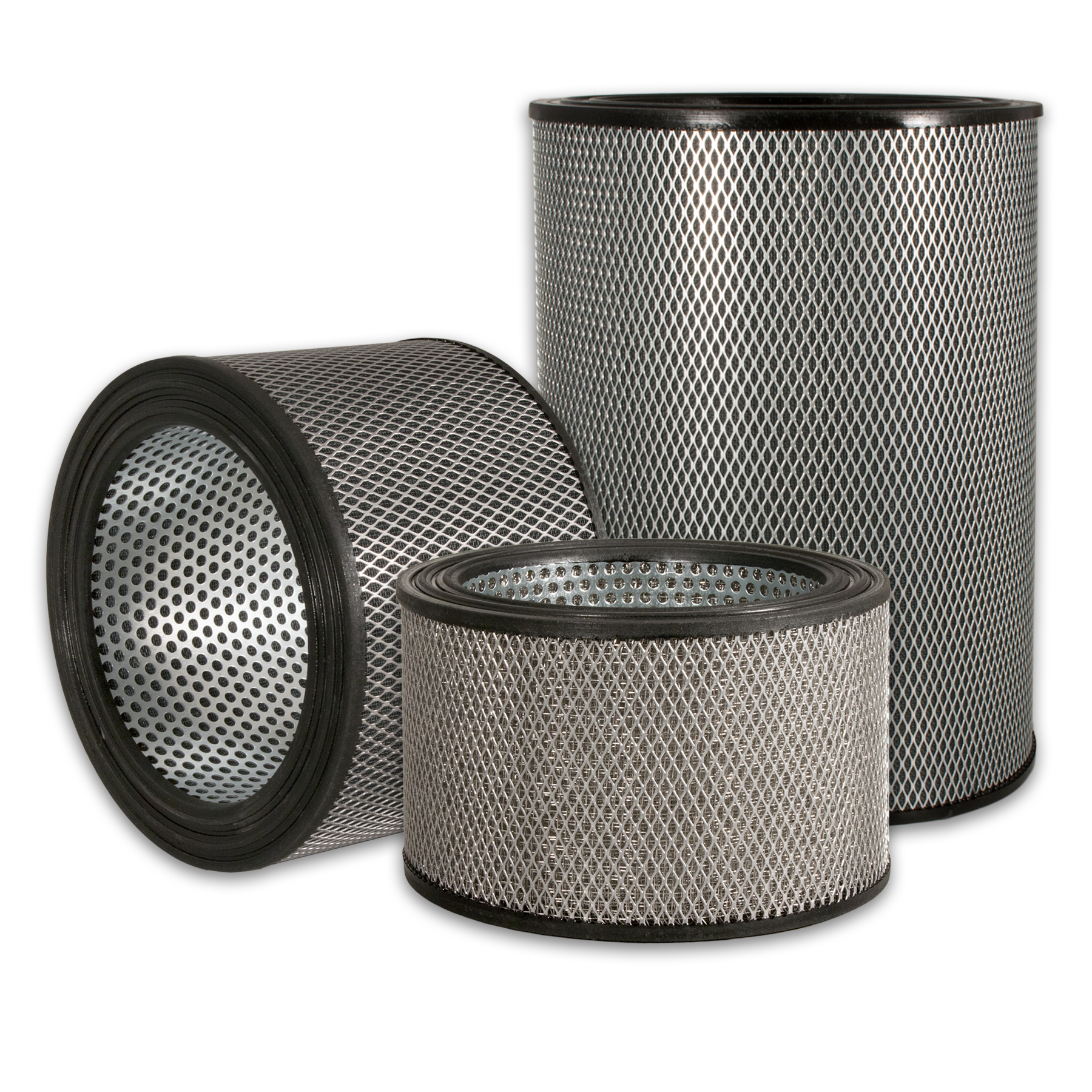 Industrial wire mesh filters from Sidco Filter to replace Shawndra Sparks, Airmaze, Consler, Endustra, Filpro, Ingersoll Rand, Solberg, Sunshine, and Universal filter elements.