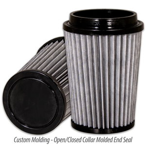 Open/Closed Collar Molded End Seal Filter